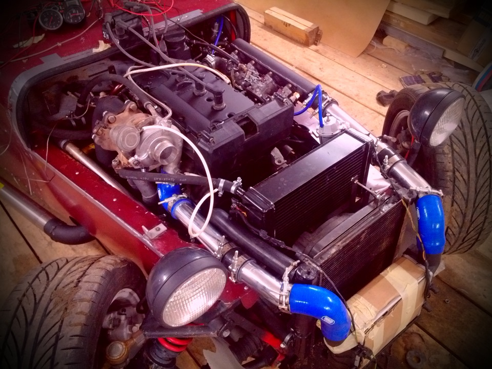 Как сделать турбо двигателя