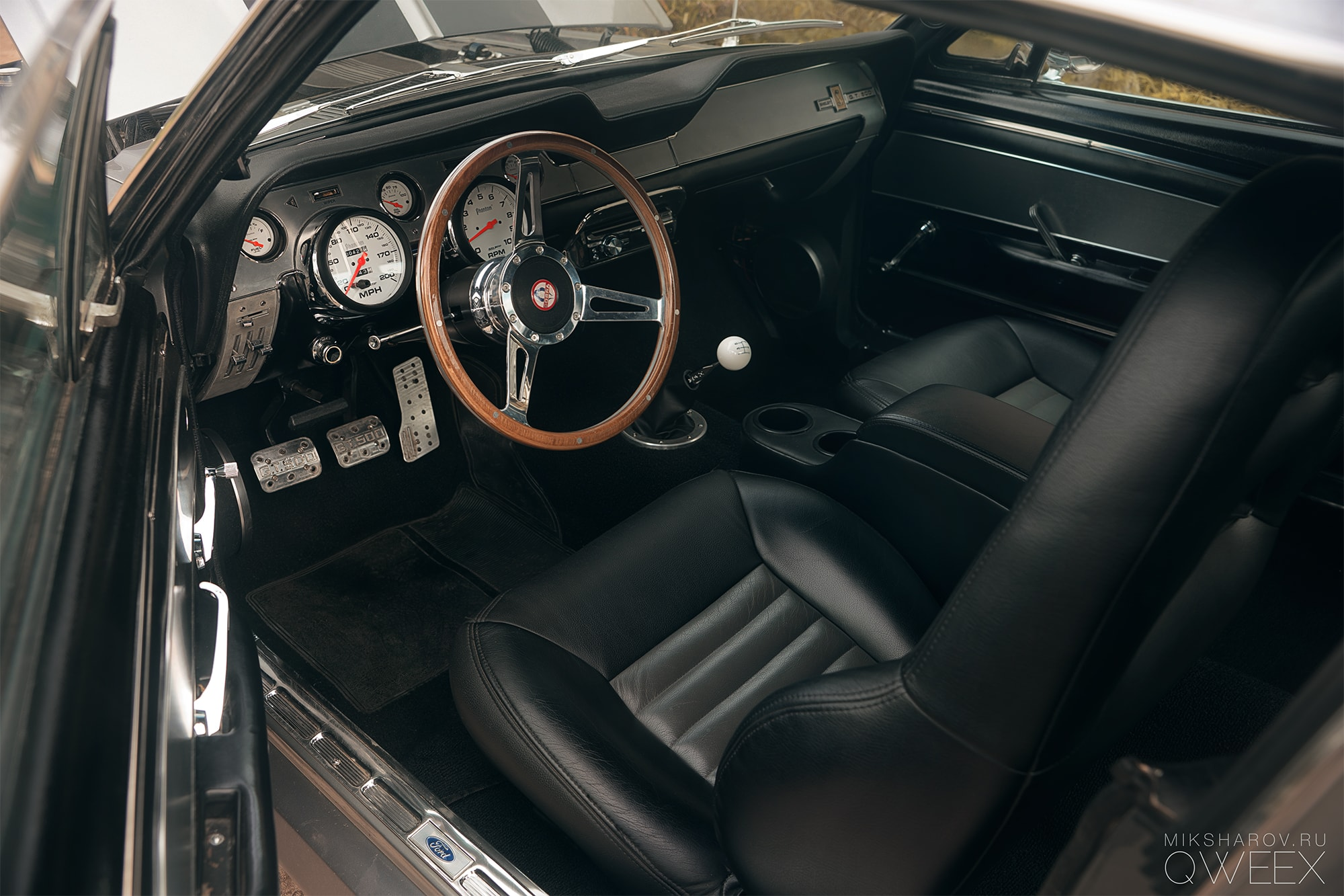 1967 FORD MUSTANG SHELBY G.T. 500 Eleanor (6)
