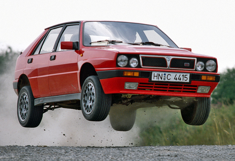 1987 Lancia Delta HF Integrale 16v (831); top car design rating and specifications